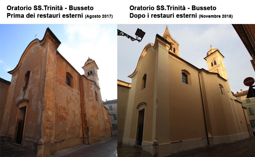 Oratorio SS Trinità Restauro degli esterni ed interni 01