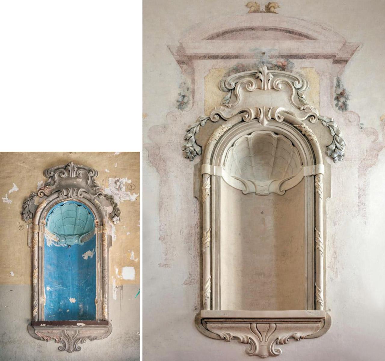 Restauro Scalone Monumentale Ex Convento Madri Orsoline in Fidenza 02