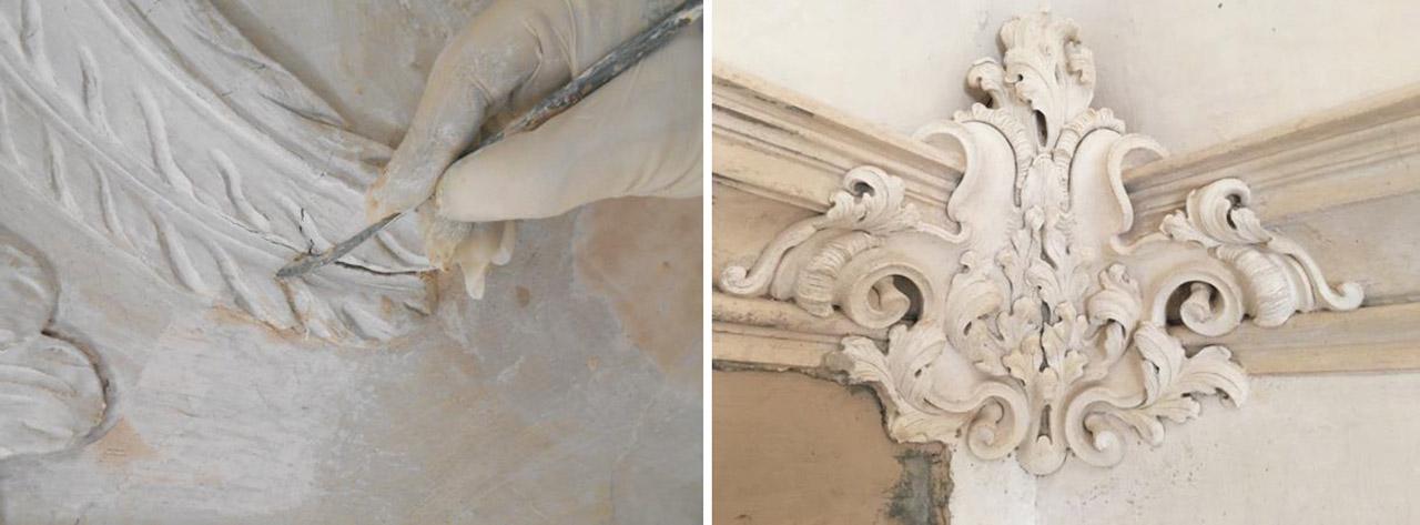 Restauro Scalone Monumentale Ex Convento Madri Orsoline in Fidenza 05