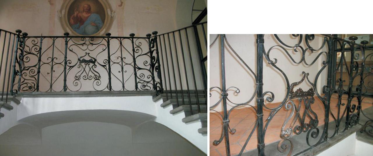 Restauro Scalone Monumentale Ex Convento Madri Orsoline in Fidenza 06